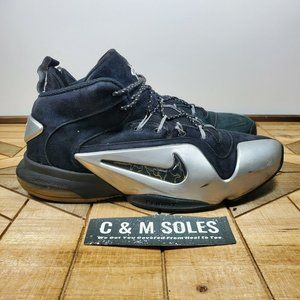 Nike Zoom Penny VI Premium 'Black Metallic Silver'
